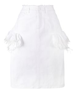 Preen By Thornton Bregazzi | Ruffle Denim Skirt