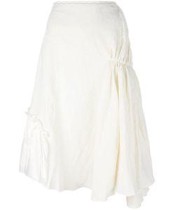 J.W. Anderson | J.W.Anderson Gathe Asymmetric Skirt 8 Cotton/Viscose