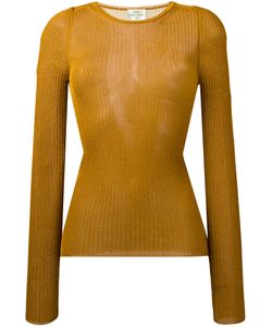Forte Forte | Ribbed Detail Jumper 3 Viscose/Metallized Polyester