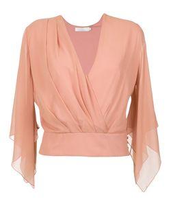 GIULIANA ROMANNO | Silk Wrap Blouse Women