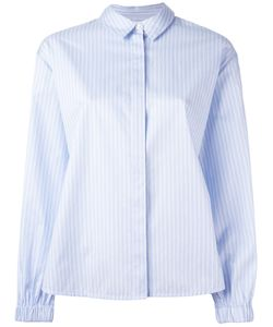 Elizabeth And James | Striped Shirt Large Cotton