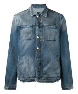 RTA | Zipped Denim Jacket Medium Cotton/Polyurethane