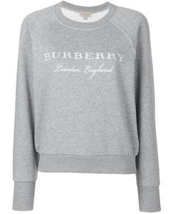 Burberry | Толстовка С Вышитым Логотипом