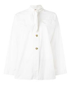 ROMEO GIGLI VINTAGE   Tie Neckline Shirt Small