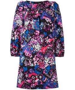 Marc Jacobs | Printed Boat-Neck Dress 8 Cotton/Spandex/Elastane