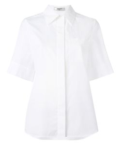 Lanvin | Boxy Short Sleeved Shirt 38 Cotton
