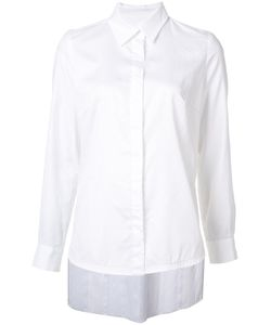 JONATHAN COHEN | Asymmetric Pleat Shirt Size Small
