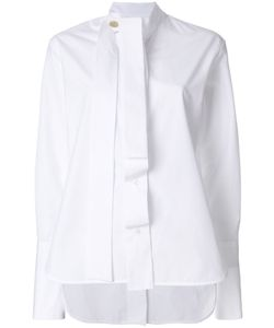 Eudon Choi | Front And Back Placket Detailed Shirt Women