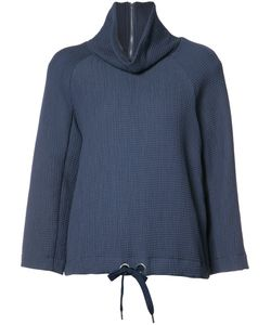 RODEBJER | High Neck Sweatshirt Small Viscose/Cotton/Polyamide