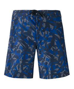 Z Zegna | Camouflage-Print Swimming Shorts