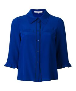 L' Autre Chose | Lautre Chose Piped Trim Shirt 42 Silk