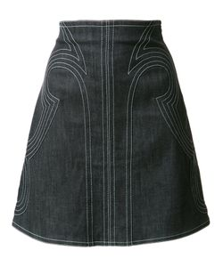 Derek Lam 10 Crosby   Stitched A-Line Skirt