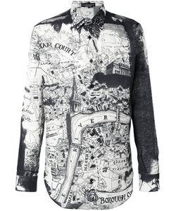 Alexander McQueen | Рубашка London Map