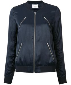 Just Female | -Pockets Bomber Jacket Small Polyester/Viscose