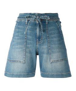 Current/Elliott | Tie-Waist Shorts 30