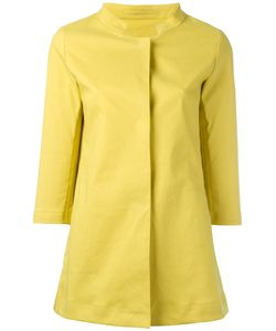 Herno | Lemon Raincoat 40 Cotton/Polyurethane
