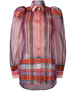 Daizy Shely   Checked Shirt 42 Silk