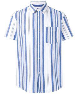 A.P.C. | Woven Stripe Shirt Xl Cotton