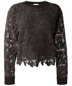 See By Chloe | See By Chloé Guipure Jumper Large Silk/Cotton