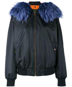 MR & MRS Italy | Куртка Бомбер С Меховым Воротником