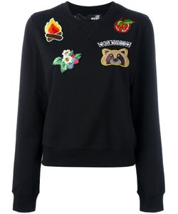 Love Moschino   Embroidered Patch Sweatshirt 42