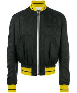 Haider Ackermann | Zipped Bomber Jacket Medium Acetate/Viscose/Cotton/Rayon