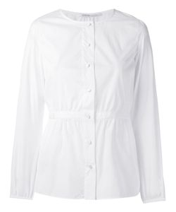 Agnona | Buttoned Blouse 46 Cotton