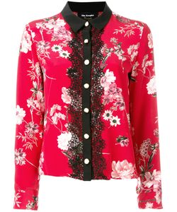 The Kooples   Lace Front Blouse