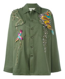 Night Market | Dragon Patch Studded Jacket Cotton