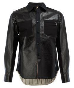 JUNYA WATANABE COMME DES GARCONS | Junya Watanabe Comme Des Garçons Man Shirt Leather Jacket