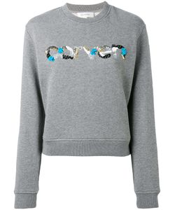 Carven | Sequin Logo Sweatshirt Xs