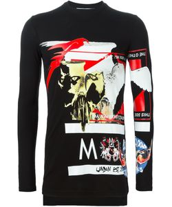 SAM MC LONDON | Collage Print T-Shirt