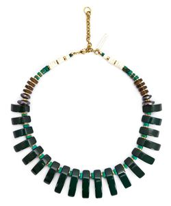 LIZZIE FORTUNATO JEWELS | Beaded Tile Necklace