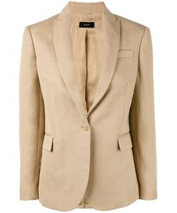Joseph | Chest Pocket Blazer Size 42 Ramie/Cotton/Viscose