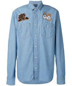 Just Cavalli | Denim Dice Patch Shirt