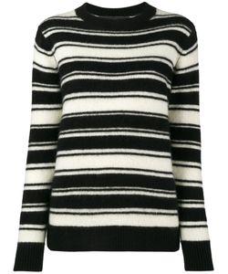 The Elder Statesman | Stripe Long Sleeve Jumper