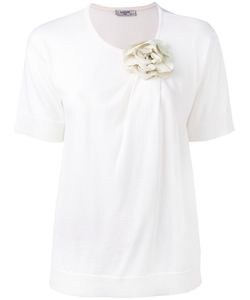 Lanvin | Flower Embellished T-Shirt M