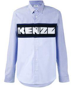 Kenzo | Рубашка С Тканой Панелью