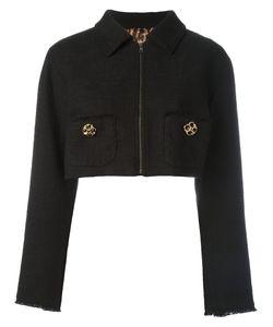 Dolce & Gabbana | Cropped Jacket 40 Cotton/Polyamide/Spandex/Elastane/Spandex/Elastane