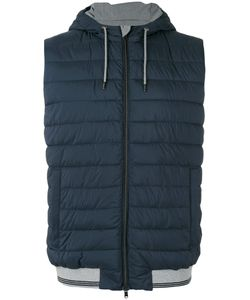 Herno | Zipped Hooded Gilet Size 54