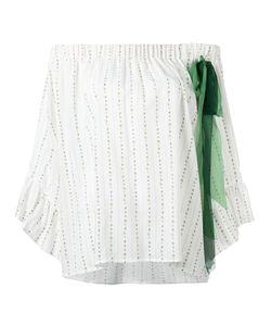 Maurizio Pecoraro | Ribbon Embellished Blouse Size 40