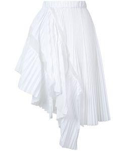 Sacai   Asymmetric Pleated Skirt Size 2