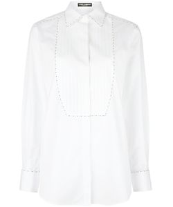 Dolce & Gabbana | Stitch Trim Bib Shirt 42