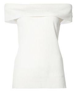 Veronica Beard   Off Shoulder Knit Top