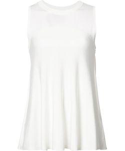Jonathan Simkhai   Sheer Detail Knitted Tank Xs Nylon/Polyester/Rayon
