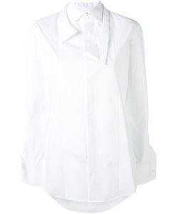 Dsquared2   Рубашка С Двухслойным Воротником
