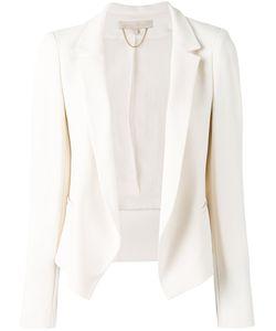 Vanessa Bruno | Fitted Blazer 38 Acetate/Viscose/Silk