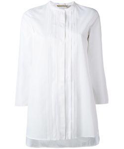 'S Max Mara | S Max Mara Pleated Front Shirt Size 40