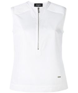 Dsquared2 | Zip-Detail Blouse 44