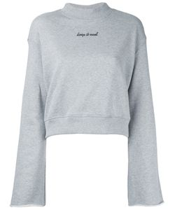 LE CIEL BLEU | Bell Sleeves Sweatshirt Size